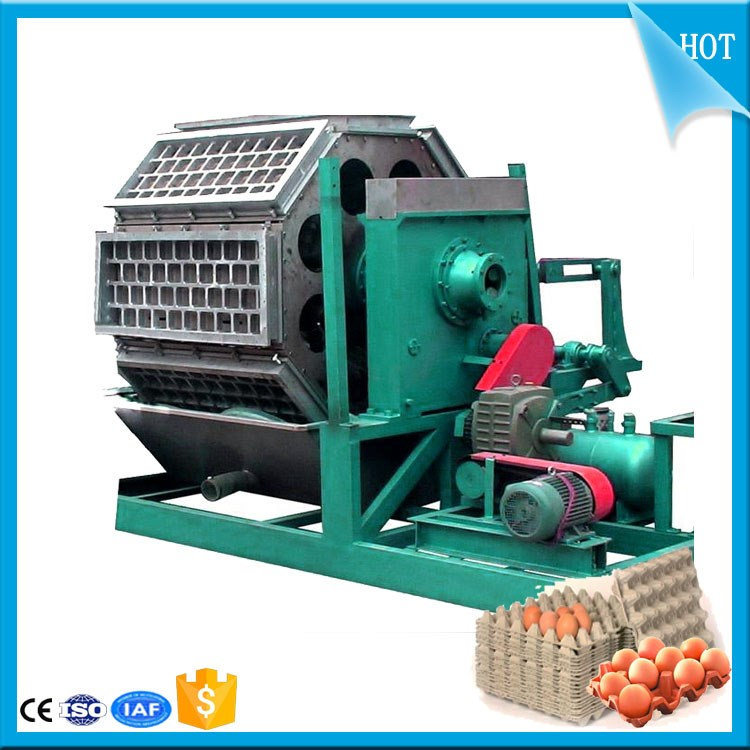 Pulp moulding machinery for manufacturing Automatic egg tray machine with a discount