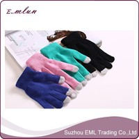Wholeasle cheap custom touch screen gloves