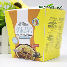 Low carb vegetarian food Low carb slim konjac cup noodles