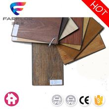 Customized professional Eco friendly fire resistance decorative click pvc vinyl flooring for indoor