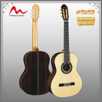 Popular Sale high end classical guitars with good quality