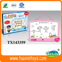 promotional educational kids magnetic drawing board writing board learning board
