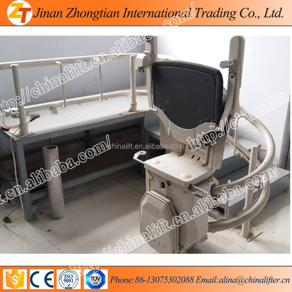 8m home stair lift hydraulic inclined chair lift with best price for