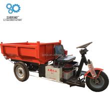 Licheng battery-operated Chinese best quality cargo tricycle with wagon