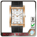 2013 stainless steel watch men hand watch stainless steel back water resistant