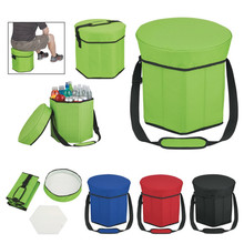 Customized Hexagon Polyester Seat Cooler in Solid Color