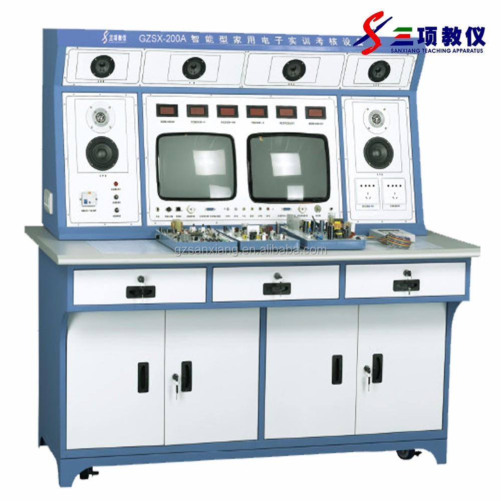 Selling laboratory furniture teaching test bench instruments using for school platform