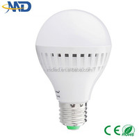 9w led plastic bulb e27 90-260V or DC12V 5730 smd solar candles for graves led lampen