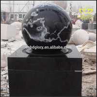 Wholesaler for sale China Black Marble Stone Rolling Ball Water Fountain