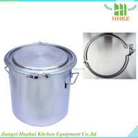 Lowest price for stainless steel wine barrel small oak barrel water pail