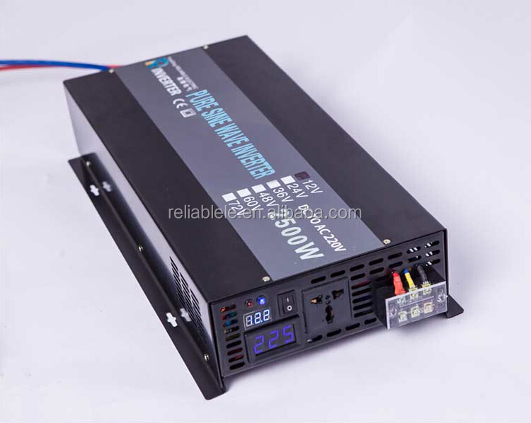 ADVANCED 2500W Off Grid Pure Sine Wave Solar Panel Power Inverter