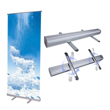 Retractable Outdoor And Indoor Pull Up Banner Stand