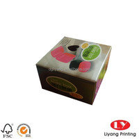 decorative travel soap packaging Paper Box with Custom Design