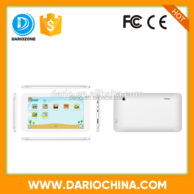 NEW arrival 7 inch Dual Core learning kids cheap price tablets