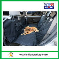 2015 hot sell new style dirt resistant waterproof pet seat cover with two pockets