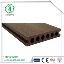 Green Initiative plastic Co-extrusion floor composite decking wood