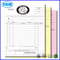 carbonless paper/invoice book