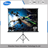 Future best tripod projection screen for outdoor advertising