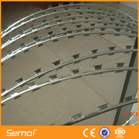 Hot Sale Galvanized Razor Barbed Wire Mesh From China Anping Manufacturer