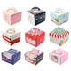 Paper Cupcake Party Shower Favor Gift packaging Cake Boxes