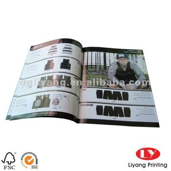 Catalog Printing with Silver Stamped with UV logo