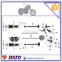Motorcycle parts for ITALIKA TC200 VALVE SPRING RETAINER and CAMSHAFT COMP.