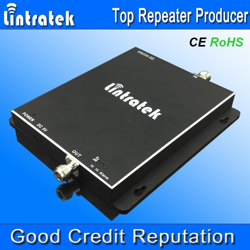 Brand LINTRATEK dual band cdma pcs repeater umts 3g 850 1900, mobile network signal repeater