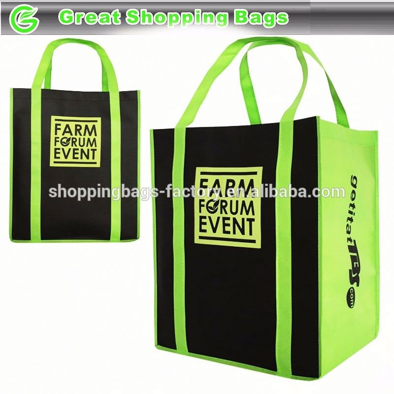Two Tone Farmer's Market Farm Forum Event Agriculture eco friendly grocery bag