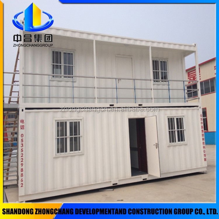 Eco friendly two-storey container house