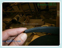 Extruded best shock absorbing rubber foam sleeve of tube