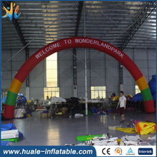 High quality low price inflatable arches / small inflatable arch for sale