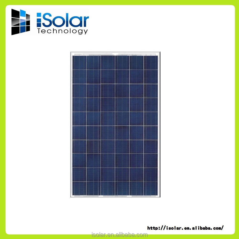 Poly Crystalline Photovoltaic Module / solar panel -- 6x10 3BB