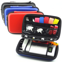 PU+EVA Shockproof Carrying Travel Case For Hard Drive, Camera and External Battery Pack etc.