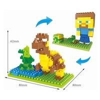 HS ne.mo cukartoon figuvgare M..a2rlin pl.0astjic building blocks toys for kids