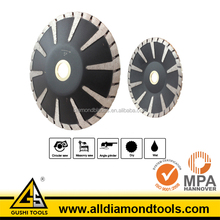 Protect Turbo Rim Diamond Concave Cutting Granite Saw Blade