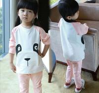 zm31359a new design wholesale children clothing set boutique sister T shirt pants brother clothes sets
