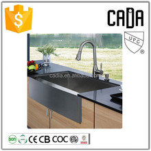 cadia undermount installation type 304 stainless steel kitchen single bowl sink for hotel