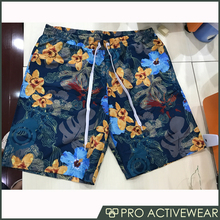 High quality mens summer recycled polyester board shorts beachwear swim shorts wholesale