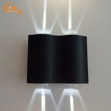 Modern decorative IP65 exterior wall light full shielded led wall pack light building light