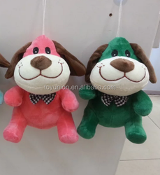 2 color mixed dog plush toy,custom plush toy,plush toy factory in China