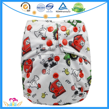 Double Gusset One Size Sleepy Baby Cloth Nappy Reusable Waterproof Pocket Diapers