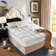 New king size queen home and hotel stitching white cotton goose felt pad mattress topper