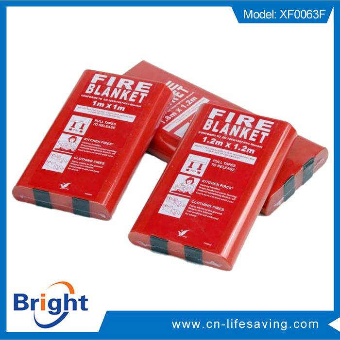Professional fire extinguishing fire rescue blanket with high quality