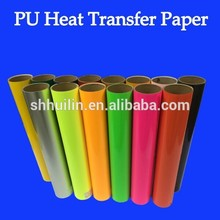 wholesale reflective flock flex pu heat transfer vinyl film for t-shirt hot and cold glitter glossy candy colored roll