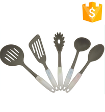 Wholesale and Custom made kitchen utensil set silicone kitchenware kitchen tool set for Christmas