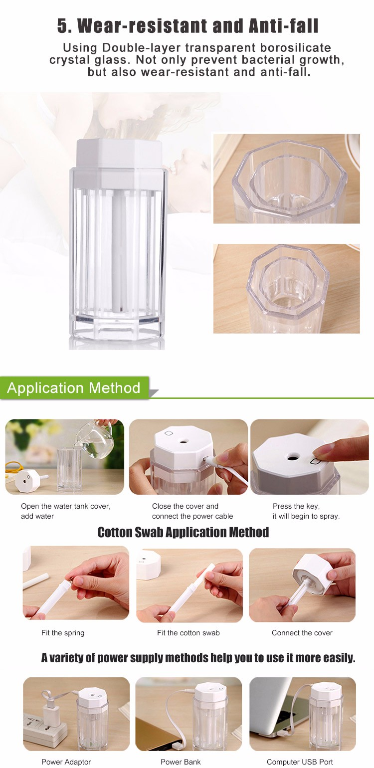Cheap And Fine White Air Humidifier Cheap Price For Student