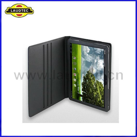 New Arrival Black High Quality Leather Case Cover for Asus Eee Pad Transformer TF101 More Colors Available