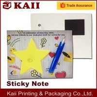 9 years Fashion simple OEM magnetic memo pad with pen factory in China with high quality and fast delivery