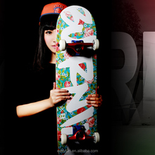 DIY mixed colors Backfire skateboard low price