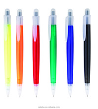Cheap wholesale white plastic ballpoint pen